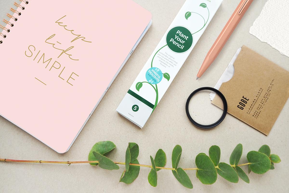 Titel Nachhaltigkeit und kreative Produkte